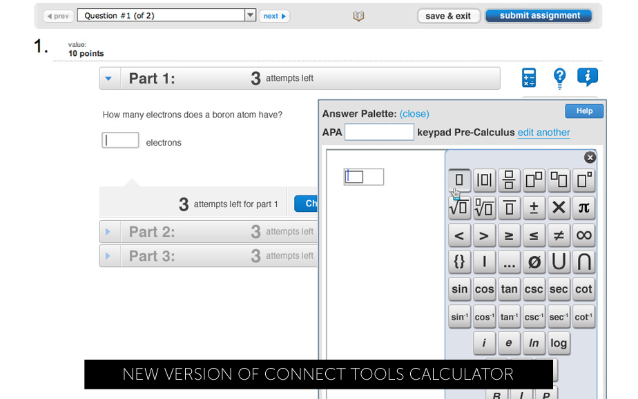 Connect Calculator New